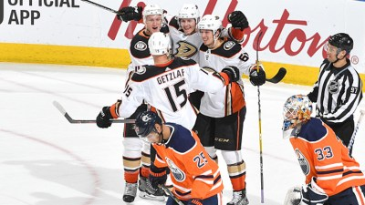 Anaheim Ducks 5, Edmonton Oilers 4 (Overtime) - 3/26/2018 - NHL - Are You Watching This?!