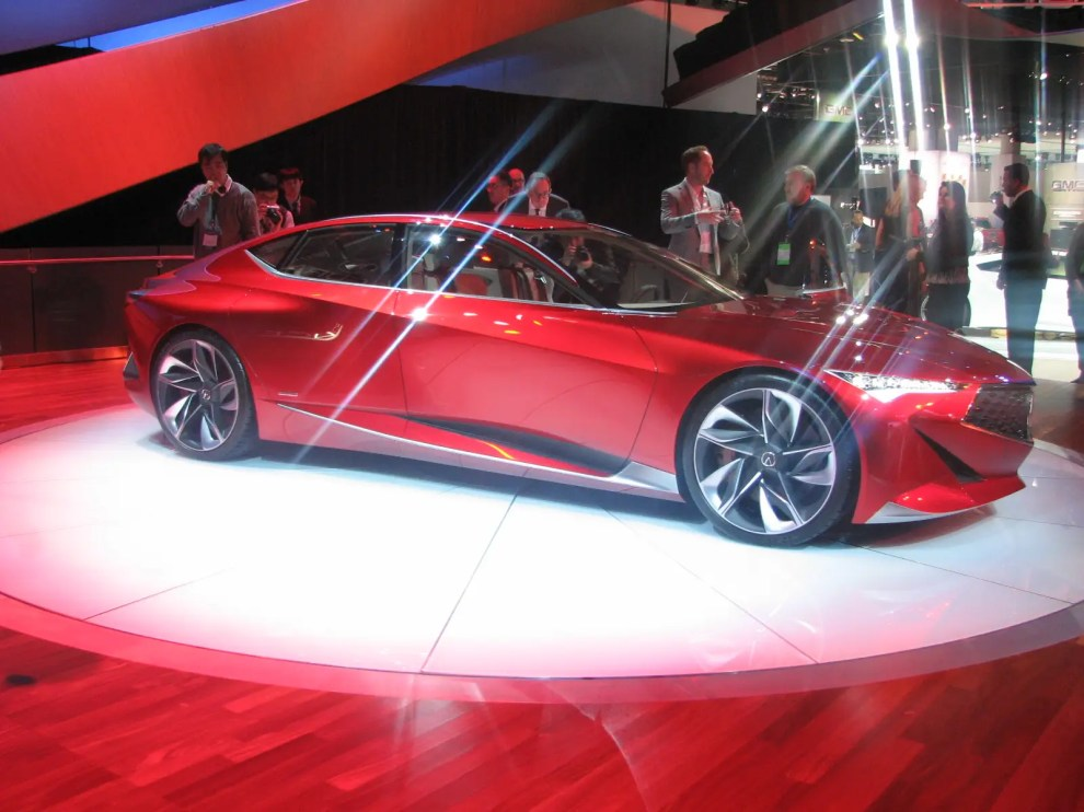 """Acura's Precision concept is actually a four-door! It has """"suicide"""" rear doors that hinge in the opposite direction from the main doors. If Acura ever builds it, they need to retain this feature."""