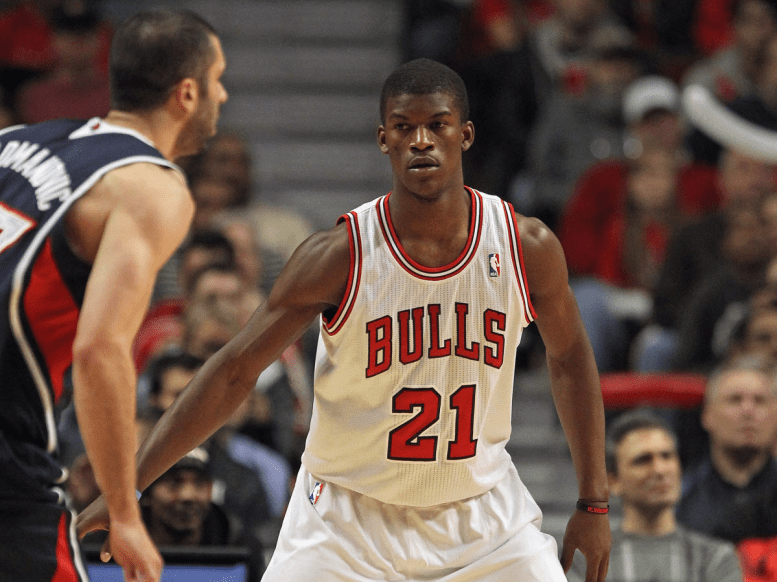 Jimmy Butler in 2012 (age 22).