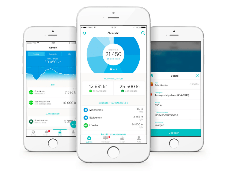 4. Tink — A personal finance app that categorizes spending and helps you budget