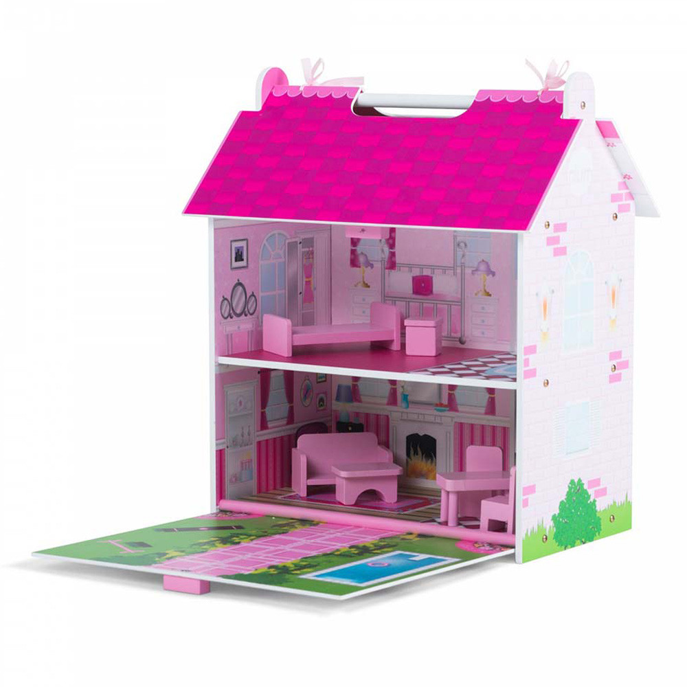 Captivating Kz 41016 Plum Hove Wooden Dolls House 1506436290 Wooden Dollhouse Family Wooden Dollhouse Small baby Wooden Doll House