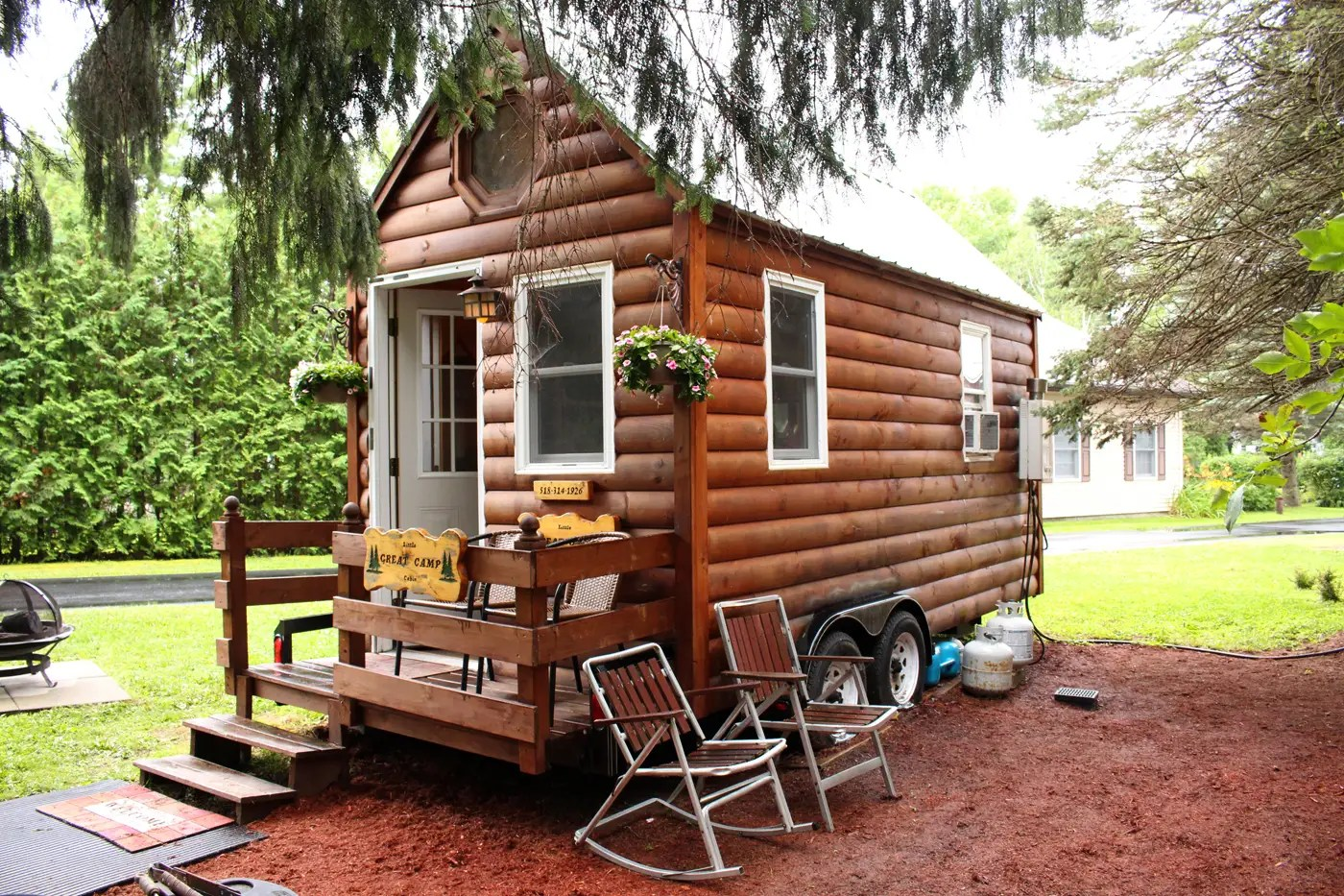 Contemporary Living In A Tiny House Plattsburgh We Survived Inside Ideas