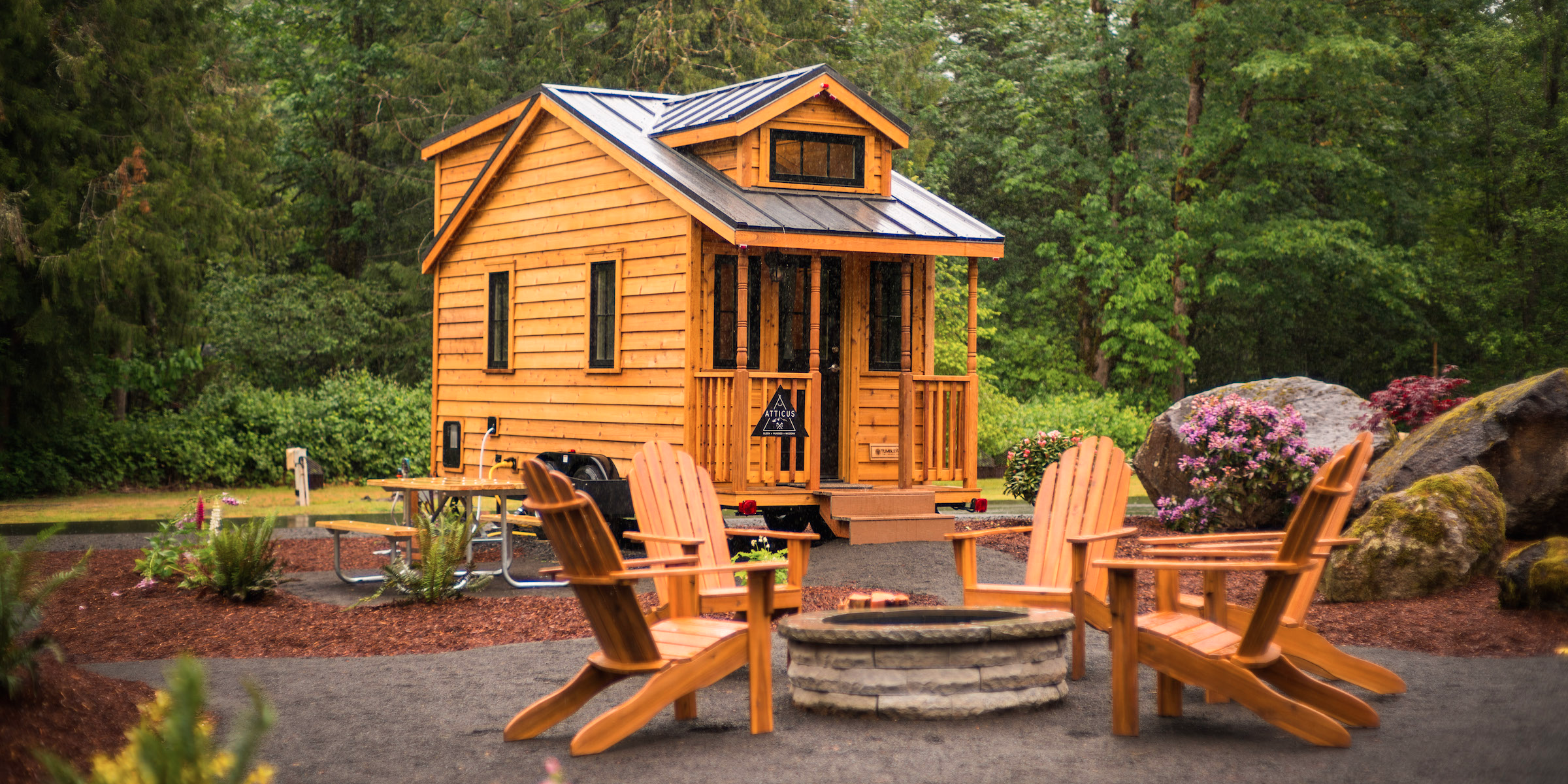 Simple Living In A Tiny House Village Could Be The Future With Decorating