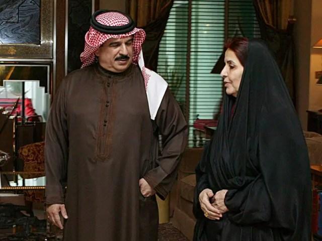 Sabika bint Ibrahim Al Khalifa, wife of Bahraini King Hamad bin Isa Al Khalifa