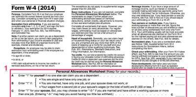 How To Fill Out A W-4 - Business Insider