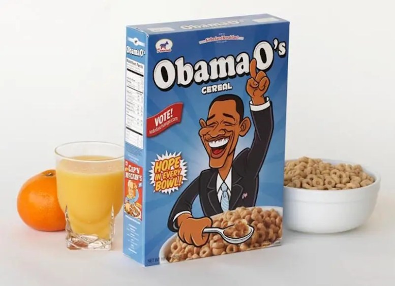 Since the site wasn't making money, the guys transformed cereal boxes into Obama O's and Cap'n McCains and sold them on the streets for $40 bucks a pop. Each one came with a limited-edition number and information about the company. Their bootstrapped marketing strategy netted them $30,000 to put toward the company.