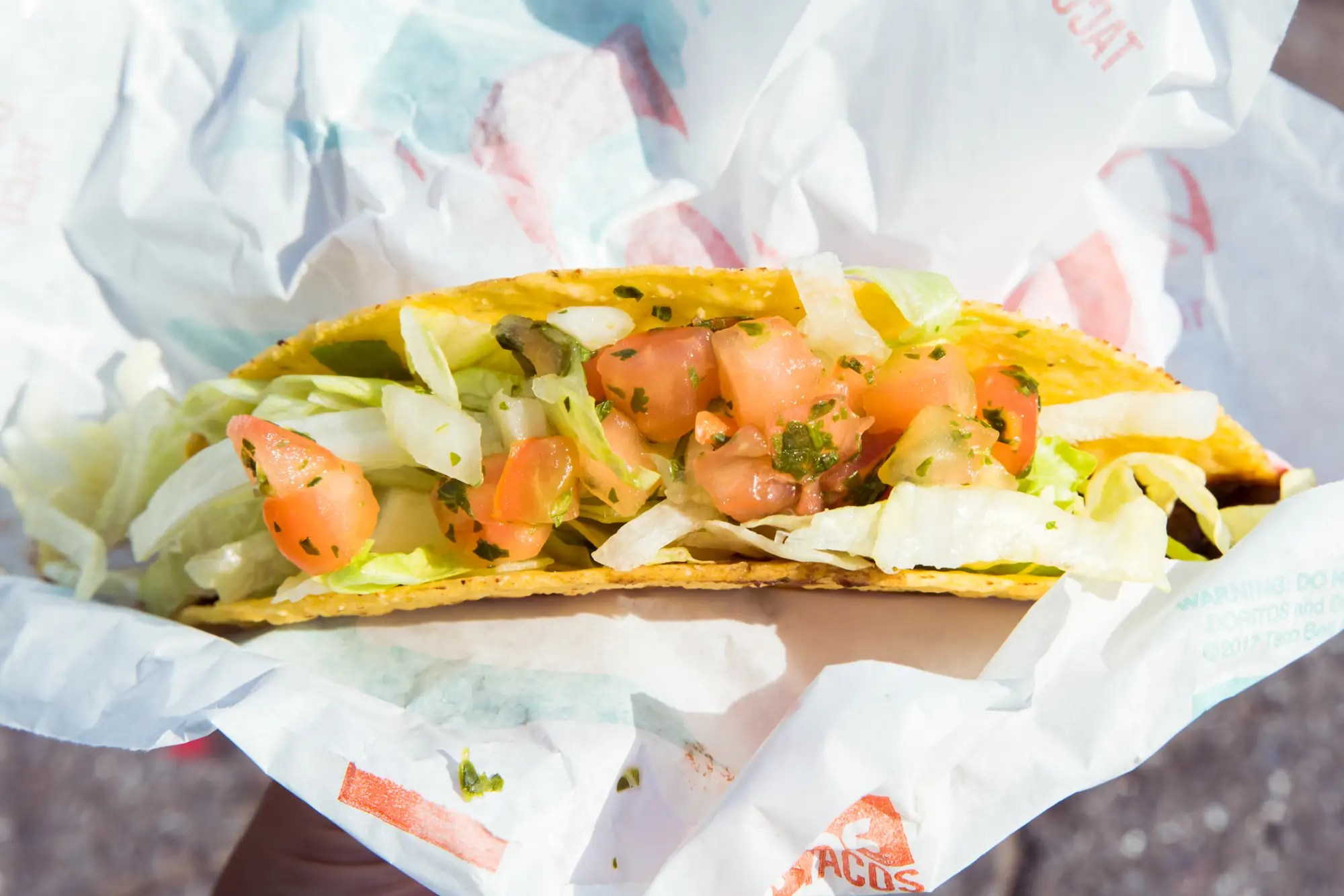 Charm Replaced Seasonedbeef Vegan Foods Se Crunchy I Ordered Crunchy Taco Black It Looked Really Taco Bell Has A Surprisingly Selection nice food Taco Bell Fresco Menu