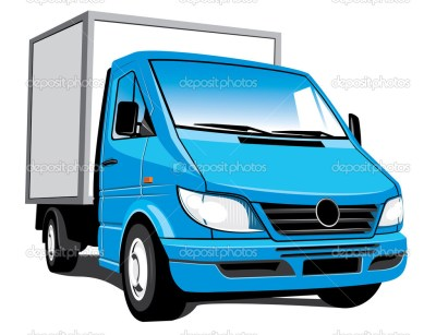 Delivery truck — Stock Vector #3308596