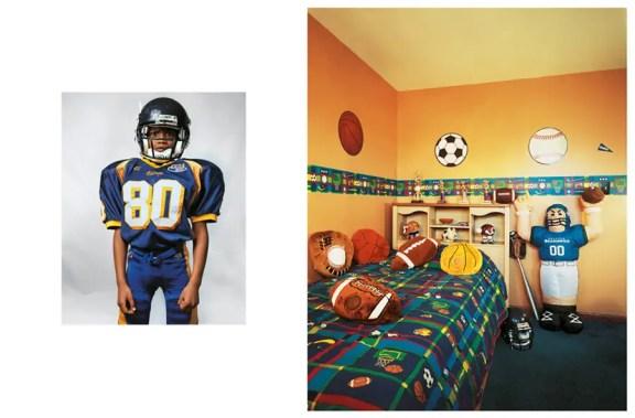 "Justin, 8, ζει στο New Jersey με την οικογένειά του. Παίζει το ποδόσφαιρο, το μπάσκετ και το μπέιζμπολ. Όταν μεγαλώσει, θέλει να είναι ""ο δήμαρχος του New Jersey."""