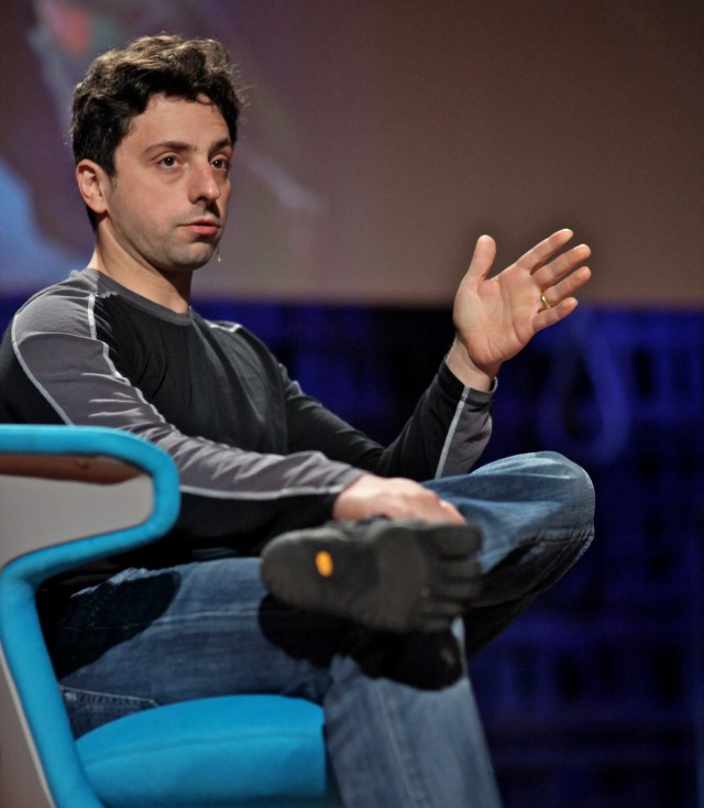 sergey brin shoes