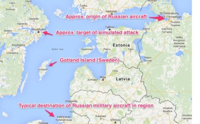 NATO report: Russian aerial exercise in Sweden a 'simulated nuclear attack' - Business Insider