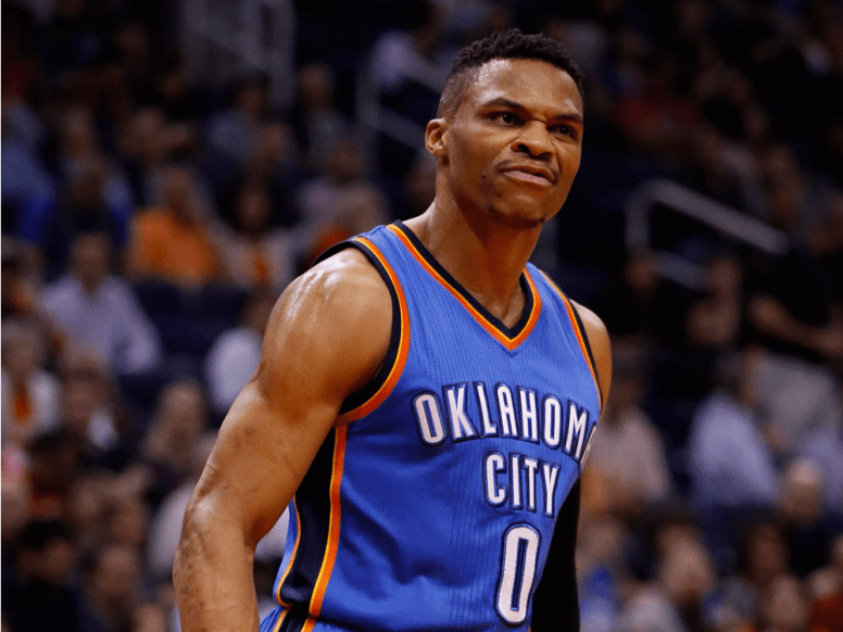 Russell Westbrook now.