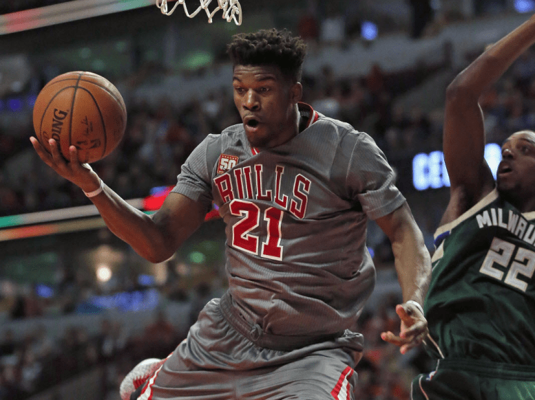 Jimmy Butler now.