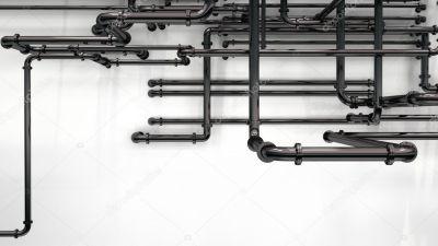 Pipes background — Stock Photo © whitehoune #9095393
