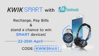 Recharge With MobiKwik to win