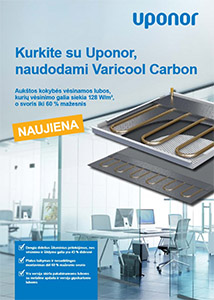 uponor varicool-carbon katalogas