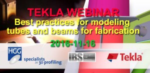 TEKLA WEBINAR Best practices for modeling tubes and beams for fabrication
