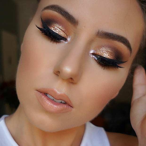 25 Glamorous Makeup Ideas for New Years Eve - crazyforus