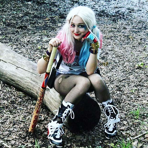 Harley Quinn for Halloween