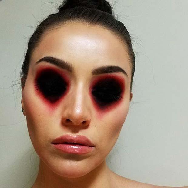 12 Creative DIY Halloween Makeup Ideas