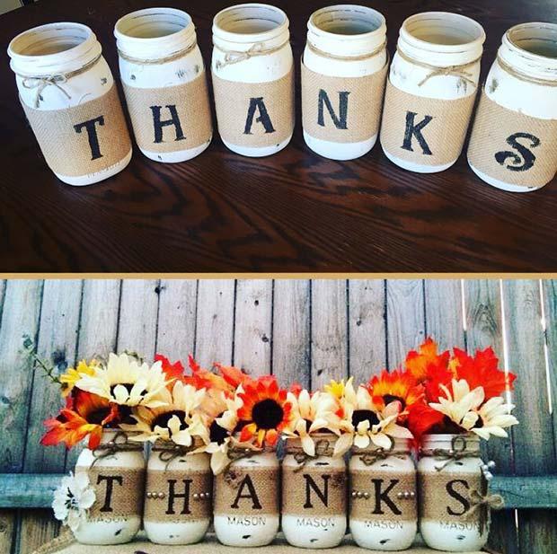 Thanksgiving Vases