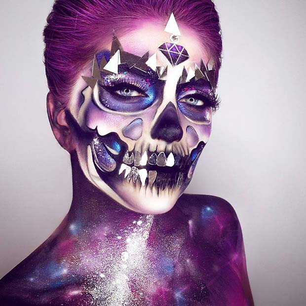 Unique Universe Halloween Makeup