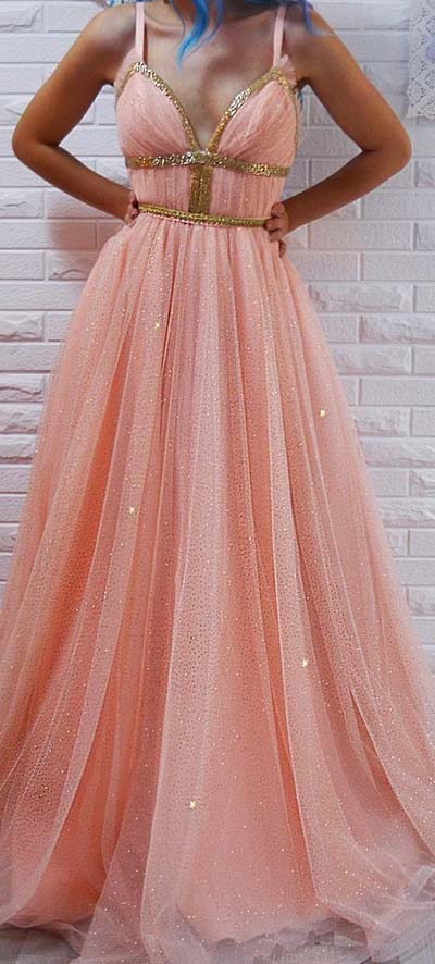 Sparkly Goddess Dress for Prom