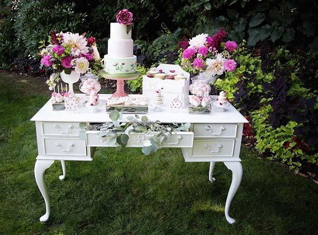 Secret Garden Bridal Shower Theme