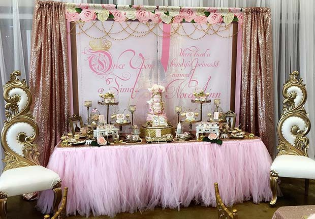 Regal Fairy Tale Baby Shower Theme