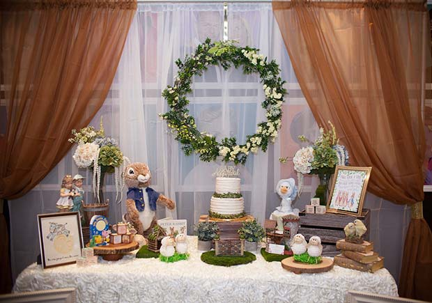 Storybook Baby Shower Theme