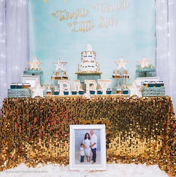 Twinkle Twinkle Baby Shower Theme