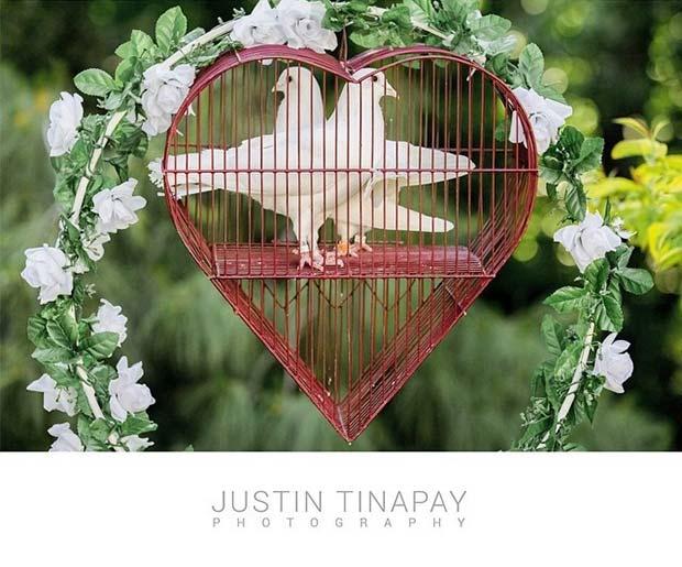 Releasing Doves Wedding Idea