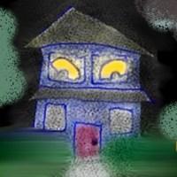 haunted house eyes