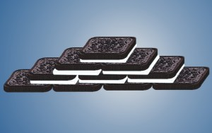 rectangular Oreo bricks for construction fun