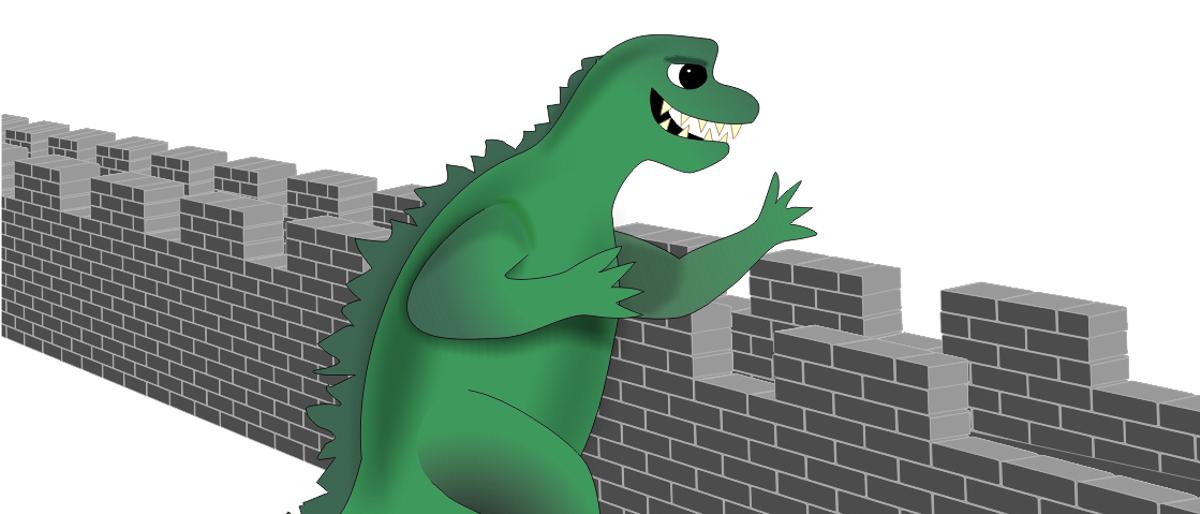 Permalink to: Godzilla & the Great Wall of China