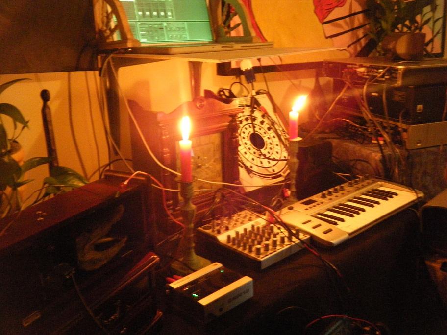 steampunk candles