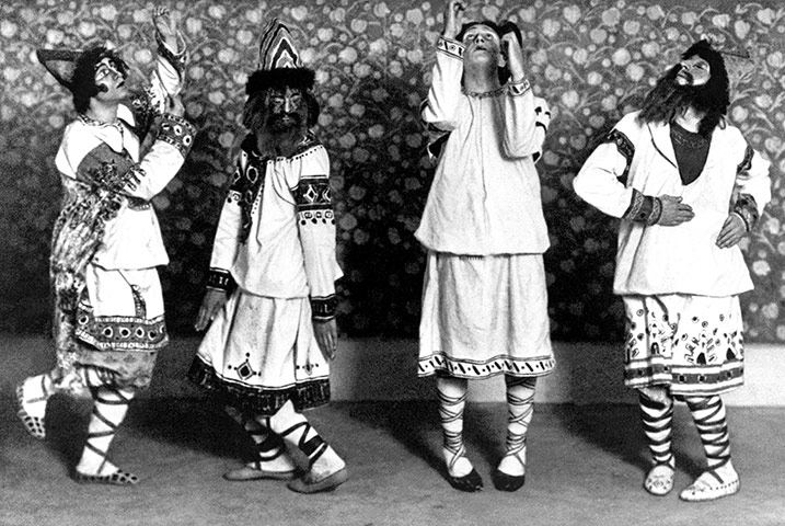 Russian Ballets At Paris In 1913