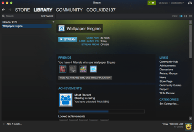 Steam Community :: Guide :: How to make wallpaper engine run on any computer(mac, linux, etc.)