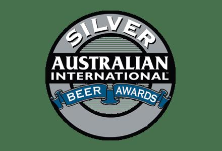 Australian International Beer Awards Silver Medal