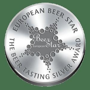 European Beer Star Beer Tasting Silver Award