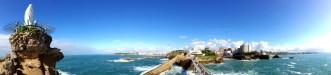 Biarritz from the sea