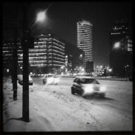 Potsdamer Platz im Winter
