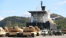 USAs militærmateriell flommer inn i Norge