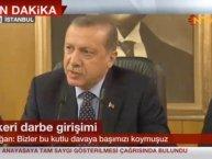 Erdoğan truer med at kuppmakerne vil bli straffet strengt
