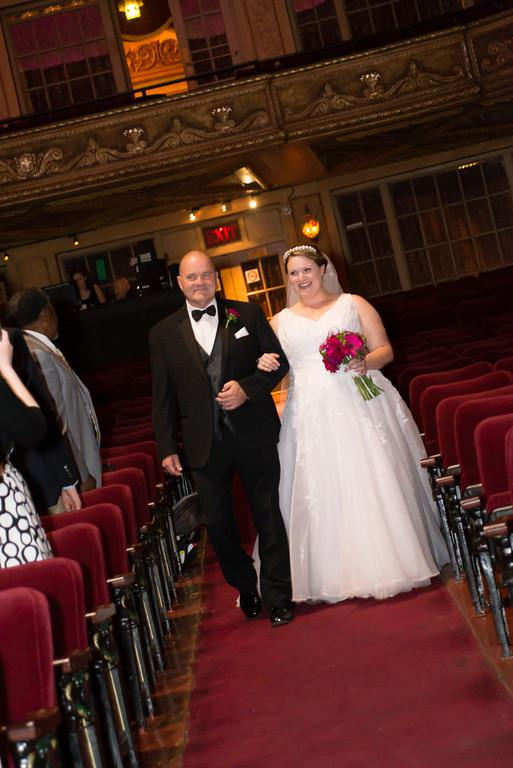 On my wedding day, May 2014.
