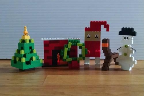 LEGO Christmas DIY