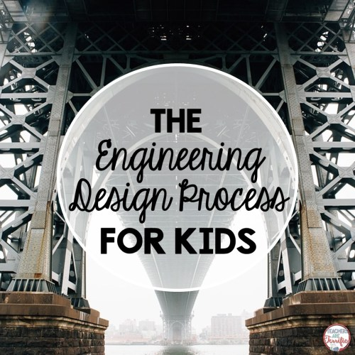 The Engineering Design Process for Kids- A blog post to help understand the process with some tips about how to make it work in an elementary classroom!