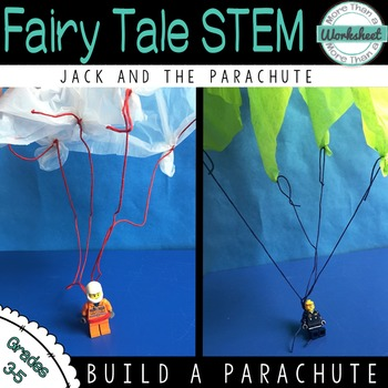 This is a building and engineering projects based on Jack and the Beanstalk. Students will construct a parachute to help Jack escape the giant using everyday household and classroom items to complete this project.