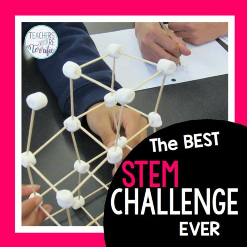 Toothpick Tower STEM by Teachers are Terrific