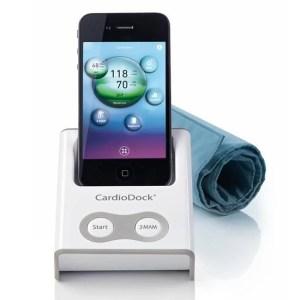 Апарат за измерване на кръвно налягане с анализиращ модул за iPhone® или iPod touch® - Medisana CardioDock®, Германия-1